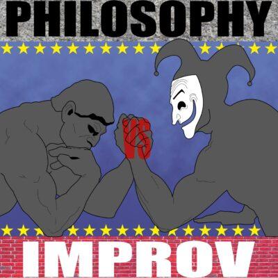 Philosophy vs. Improv Podcast Logo